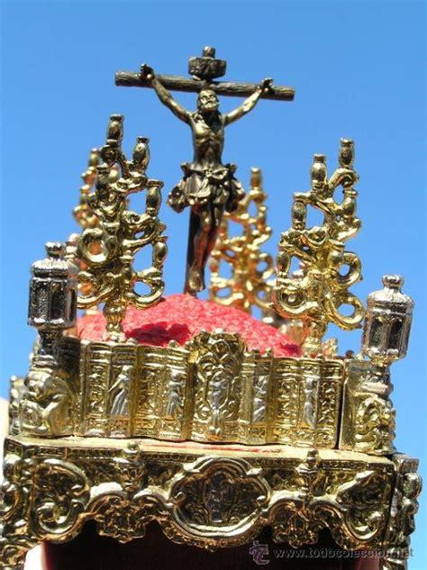 Impresionante paso de semana santa en miniatura Vendido