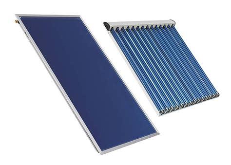 Solaranlage Roehren Oder Flachkollektor by Technik Typen Warmwasser Solaranlagen
