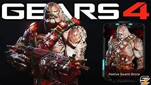 Gears Of War 4 QuotFestive Swarm Dronequot Multiplayer