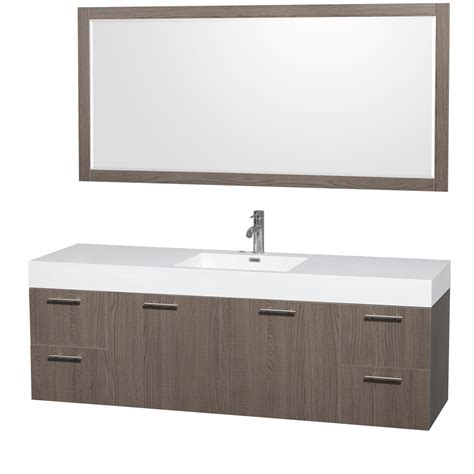 70 inch single bathroom vanity wyndham wcr410072sgoarintm70 72 inch single bathroom