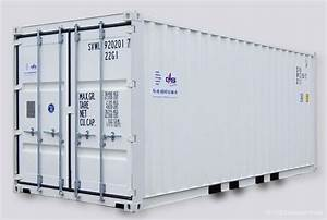 20 Fuß Container In Meter : standard containers chs container ~ Frokenaadalensverden.com Haus und Dekorationen