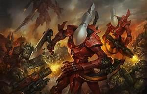 Wallpaper Warhammer 40000, orcs, Orks, Eldar, Eldar ...