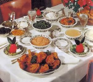 Fried Chicken and Main Dish Recipes from the Famous Green