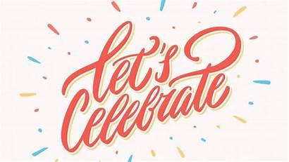 Celebrate Celebration Vector Clipart Banner Milestones Celebrating