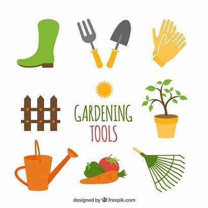 Garden Tools Gardening Vector Clipart Vectors Gadens
