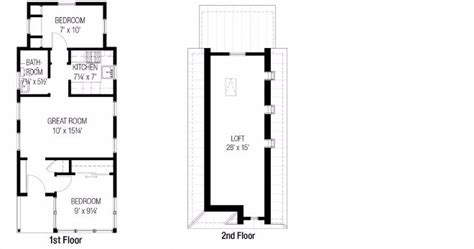 Farm Kitchen Ideas - 7 ideal small house floor plans under 1 000 square feet