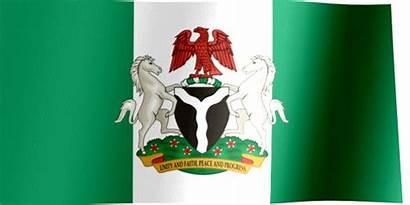 Nigeria Flag Coat Arms Africa West