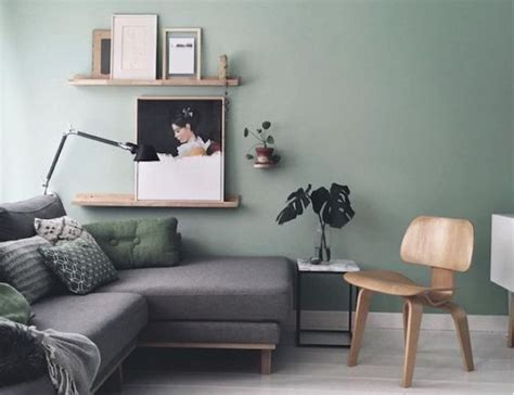 Green And Grey Living Room Walls 37 green and grey living room d 233 cor ideas digsdigs