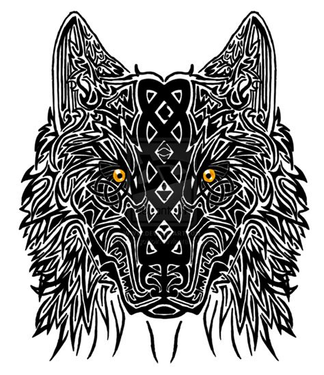 mandala wolf tattoos designs collection