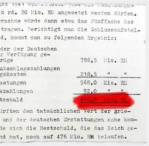 Felix Richter Rechnung : geld f r hitlers krieg griechenland gab dem dritten reich keine zwangsanleihe welt ~ Themetempest.com Abrechnung