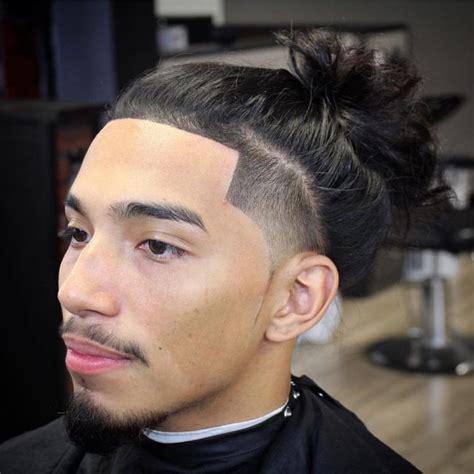 man bun fade hairstyles mens hairstyles