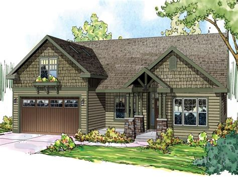 craftsman style ranch home floor plans spanish ranch style