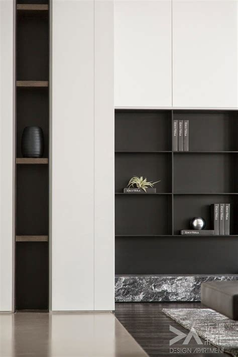 Living Room Shelves Cabinets by Living Room Shelving Joinery Detail Shadow Gap