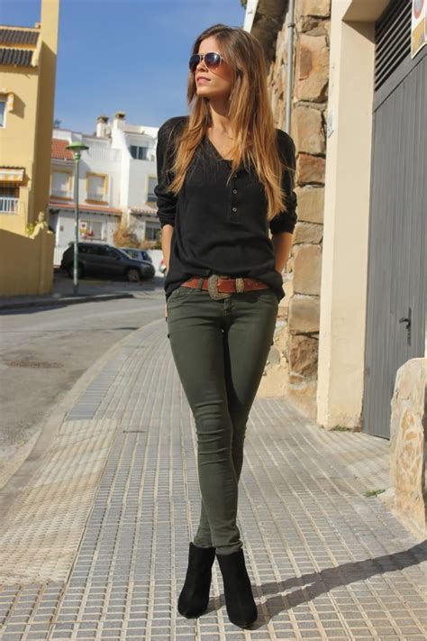 17 Best ideas about Olive Green Pants on Pinterest | Army green pants Green jeans outfit and ...