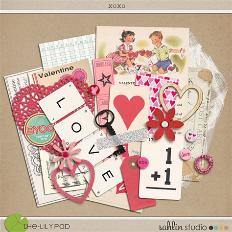 Element Packs | Digital Scrapbooking Elements - The Lilypad