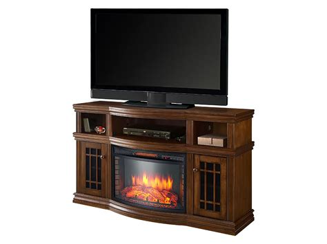 fireplace entertainment center dwyer electric fireplace entertainment center in burnished 3748