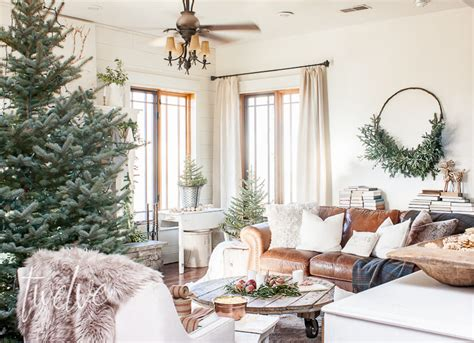 A Cozy And Simple Farmhouse Christmas Living Room Christmas Office Party Themes For Parties Sex Dinner Invitation Winter Wonderland Themed Title Ideas Crieff Hydro Nights Quizzes