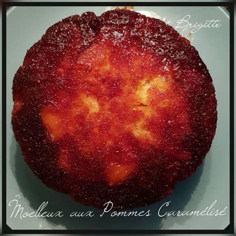 recette de cuisine creole gâteau moelleux aux pommes caramélisé recettes cookeo