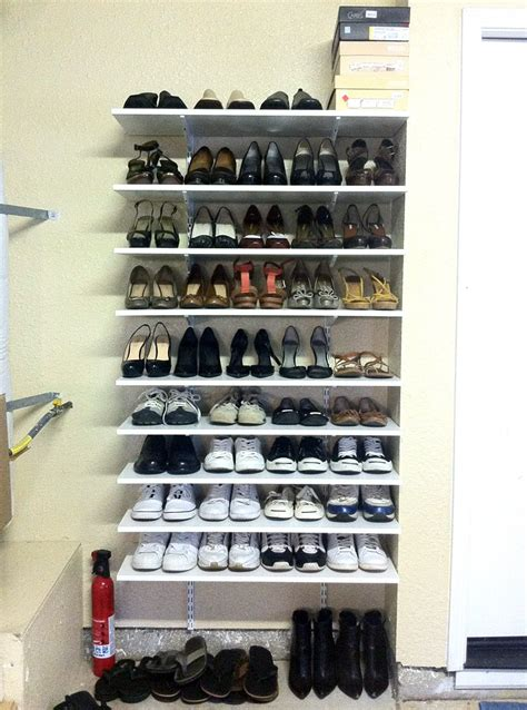 Garage Shoe Storage On Pinterest