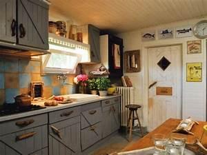 Küchenspiegel Aus Holz : k chen interieurs mit franz sischen deko elementen 25 ideen ~ Michelbontemps.com Haus und Dekorationen