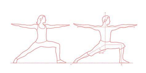 yoga poses dimensions drawings dimensionsguide