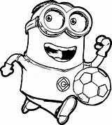 Minion Printable Coloring Pages Printables sketch template