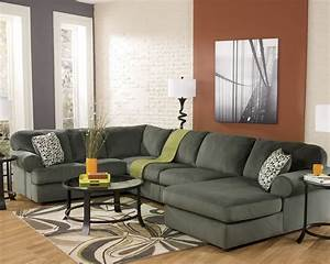 large sectional sofa ashley furniture stores chicago With ashley large sectional sofa