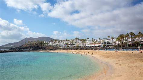 lanzarote playa blanca spain canary beach islands fenicottero flamingo praia town spanje animal august spiaggia canarische canarias ilhas acqua spagna