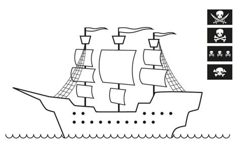 Dibujo Barco Pirata Para Imprimir by Barco Pirata Para Dibujar Imagui