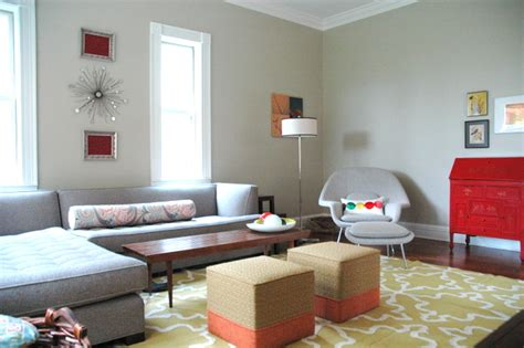 Modern Living Rooms From The Far East : Contemporary Living Room Project In East Nashville