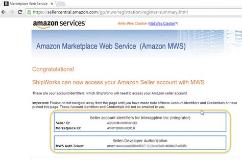 amazon help desk number get your amazon seller id and auth token for channel