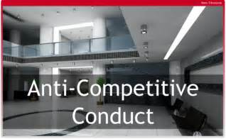 anti competitive conduct  safetrac