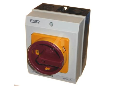 Pole Rotary Isolator Switch