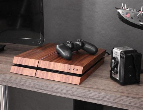 Real Wood Cover For Ps4 By Toast Gadget Flow