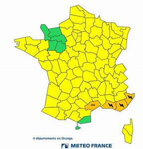 Departement En Alerte Orange : orages inondations 4 d partements en alerte orange ~ Medecine-chirurgie-esthetiques.com Avis de Voitures