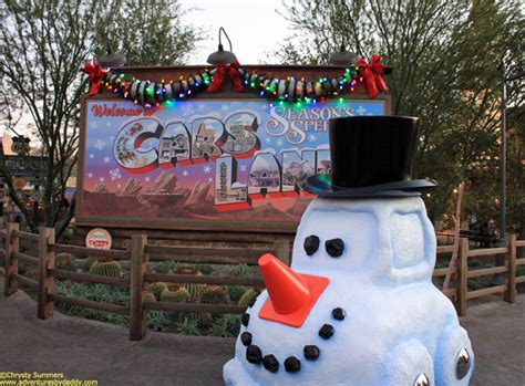 Type Of Christmas Tree Decorations by Photo Tour A Very Merry Cars Land Christmas At Disney