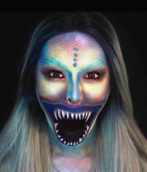 Mermaid Makeup Mugeek Vidalondon