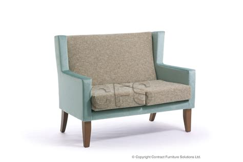 Two Seater Settee by Contract Furniture Solutions Ophelia Medium Back 2