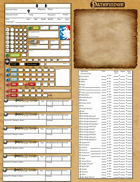 pathfinder templates search results for pathfinder character sheet calendar 2015