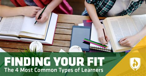 The 4 Most Common Types Of Learners