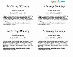 best photos of sample obituary formats sample obituary With funeral biography template