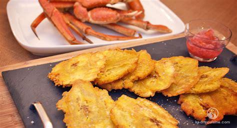 pese cuisine bananes pesées croustillantes kedny cuisine