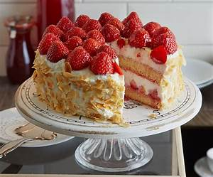 Erdbeer Ricotta Torte Rezept [ESSEN UND TRINKEN]