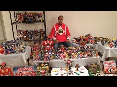 Twenty Years Of Power Rangers Toys! My Entire Collection