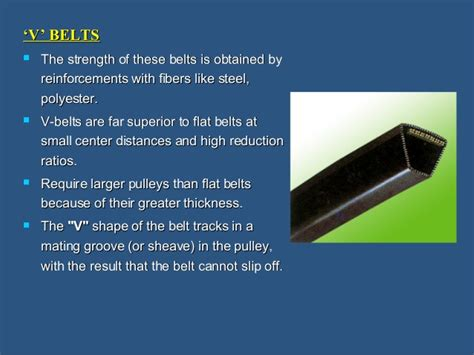 2 Pulleys And Belt Drives