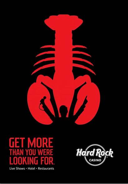 Rock Hard Lobster Casino Graphic Ads Creative
