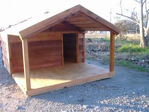 large dog house plans with porch 6 photo building a diy With large size dog house