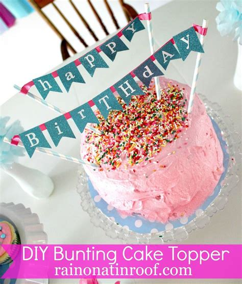 235 best images about free mini cake bunting printable on