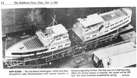 Mt Washington Boat by The Legacy Of The M S Mount Washington Winnipesaukee Forum