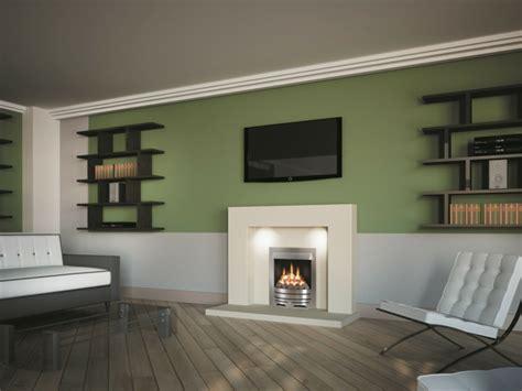 Wandgestaltung Farbe Wohnzimmer by Wandgestaltung Wohnzimmer Mutige Und Moderne Wahl